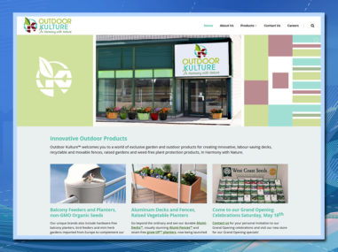retail store wordpress website