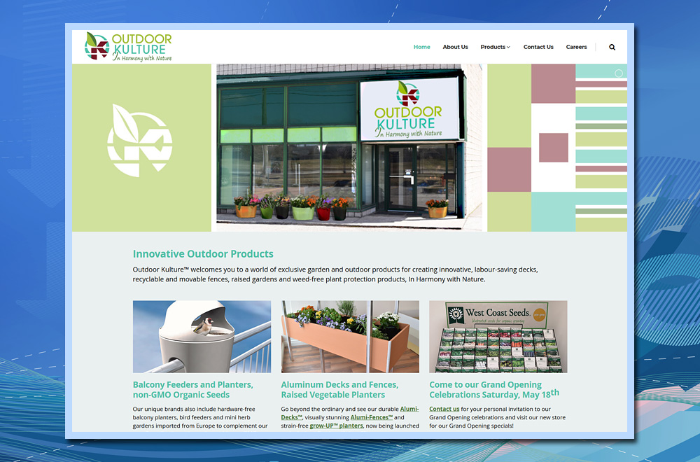 retail store Wordpress website, WordPress web development, WordPress website