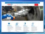 Adaptall Manufacturing WordPress Website with VamTam Builder