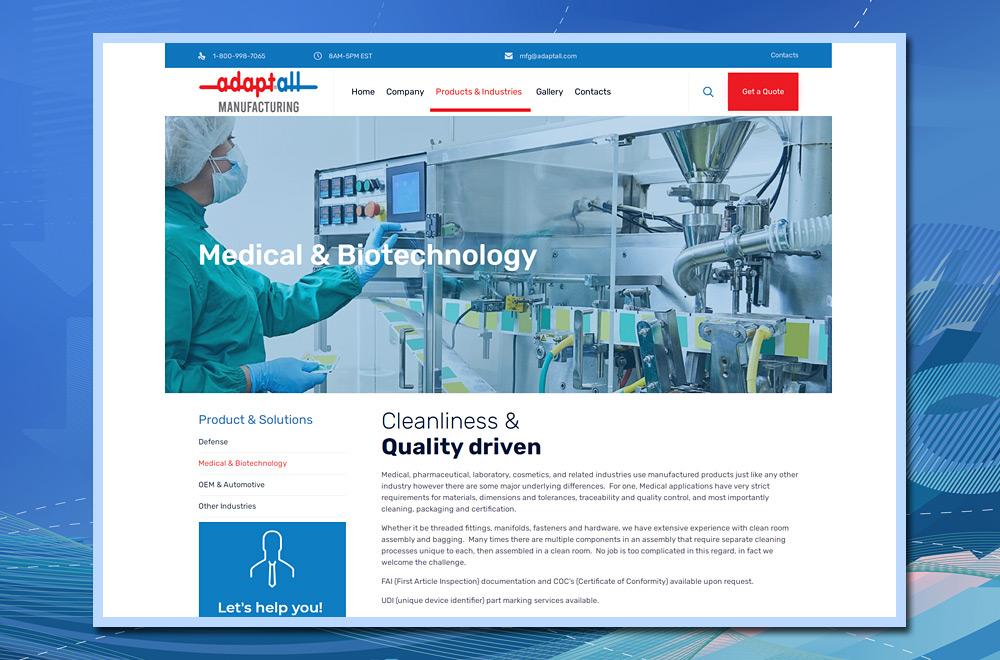 Adaptall Medical & Biotechnology Industries